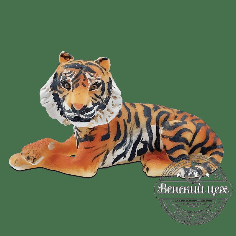 """Фигурка из сахарной мастики """"Тигр"""""""