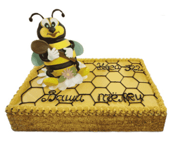 """Торт детский """"Пчёлка"""" №1380"""