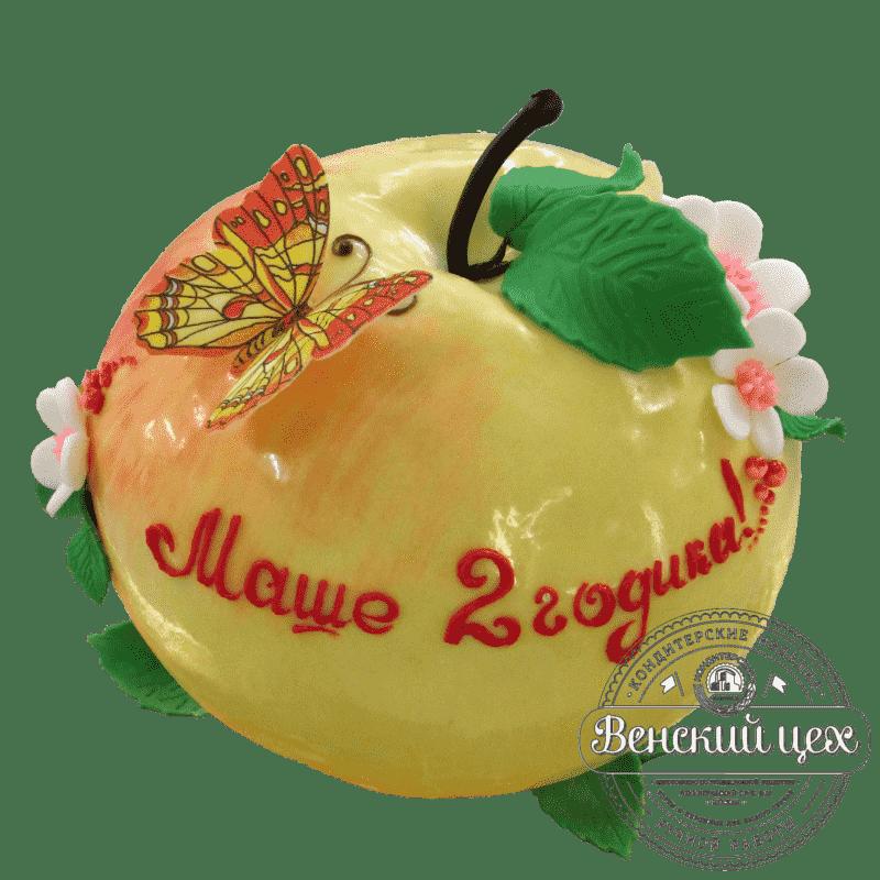 """Торт детский """"Яблоко"""" №1376"""