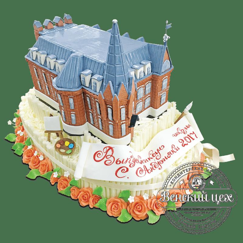"""Торт на праздник """"Колледж"""" №1953"""