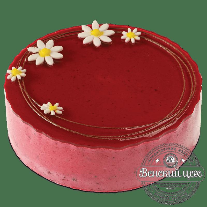 Торт постный ягодный