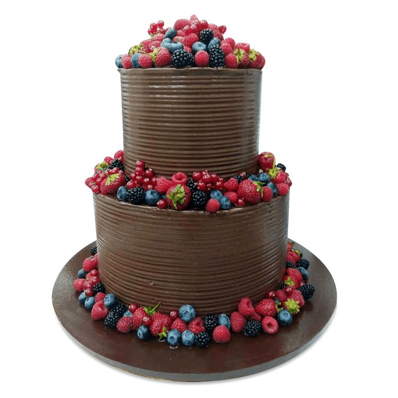 Торт свадебный №1996