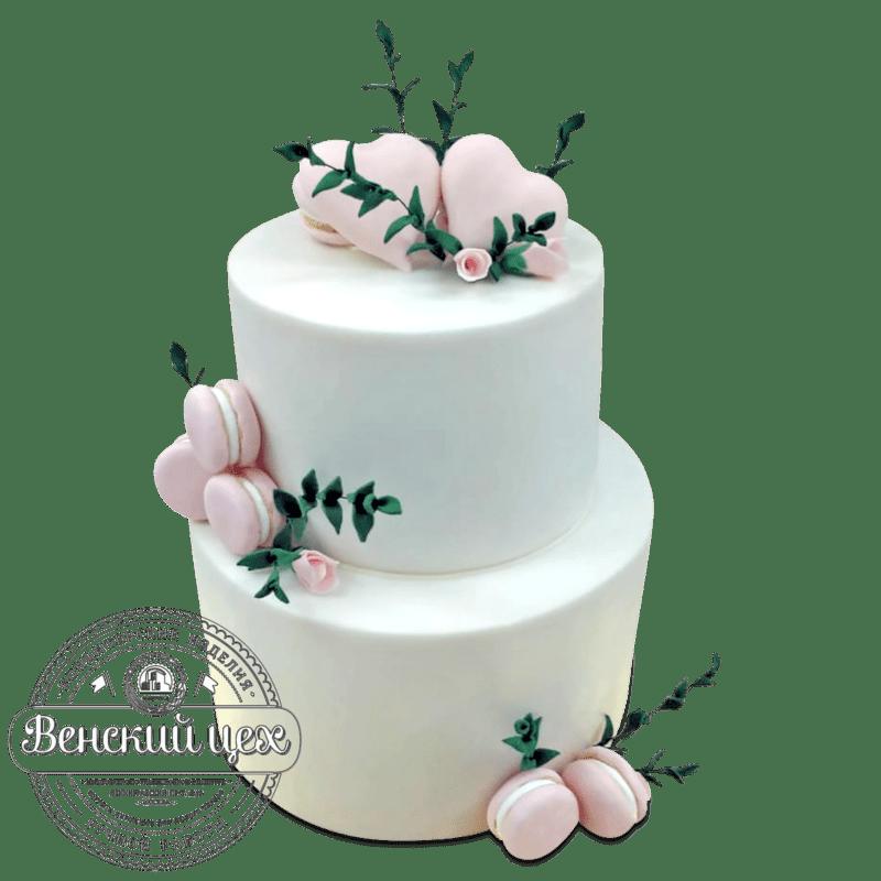 """Торт свадебный """"Джульетта"""" №1987"""