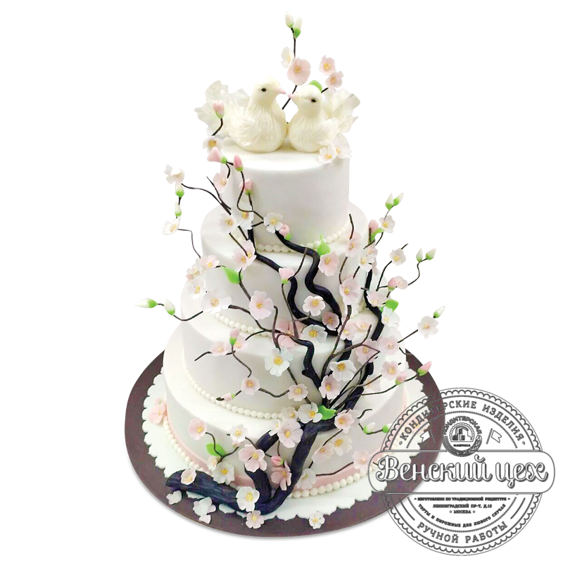Торт на свадьбу №1974
