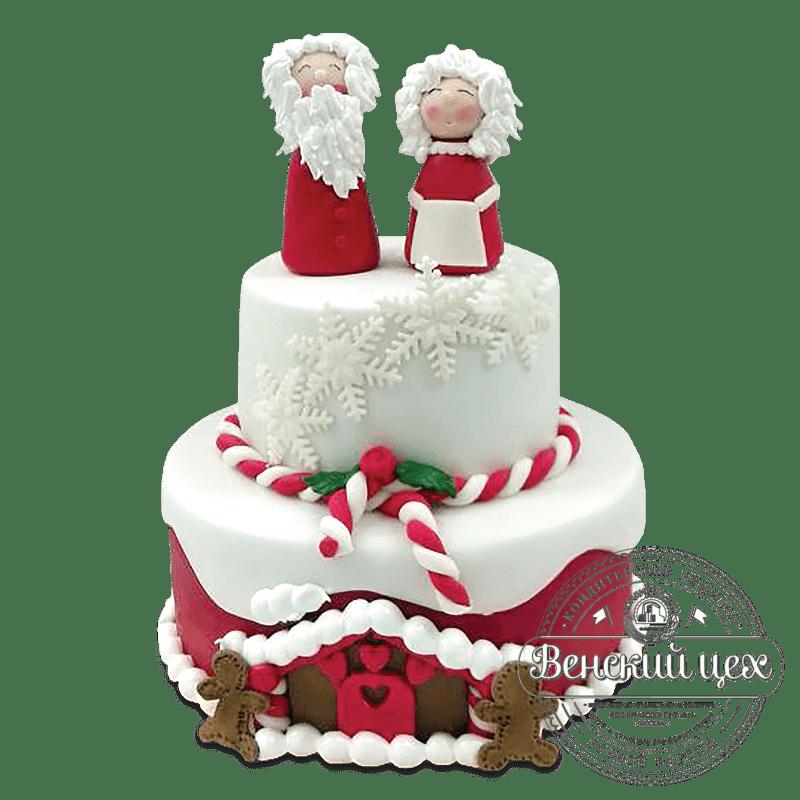 Торт  на Новый год  № 1075