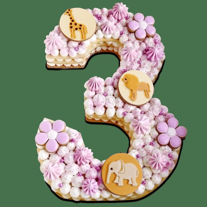 """Торт  детский """"Сладкая цифра"""" №2015"""