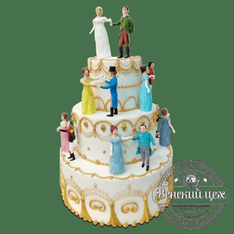 """Торт  """"На балу"""" №2033"""