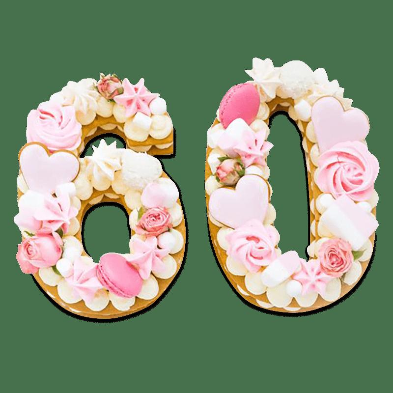 """Торт """"Сладкие цифры"""" №2020"""