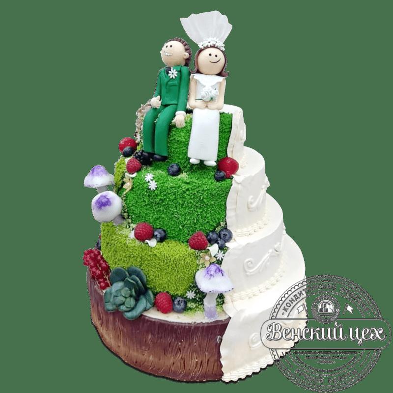 Торт на свадьбу №2047