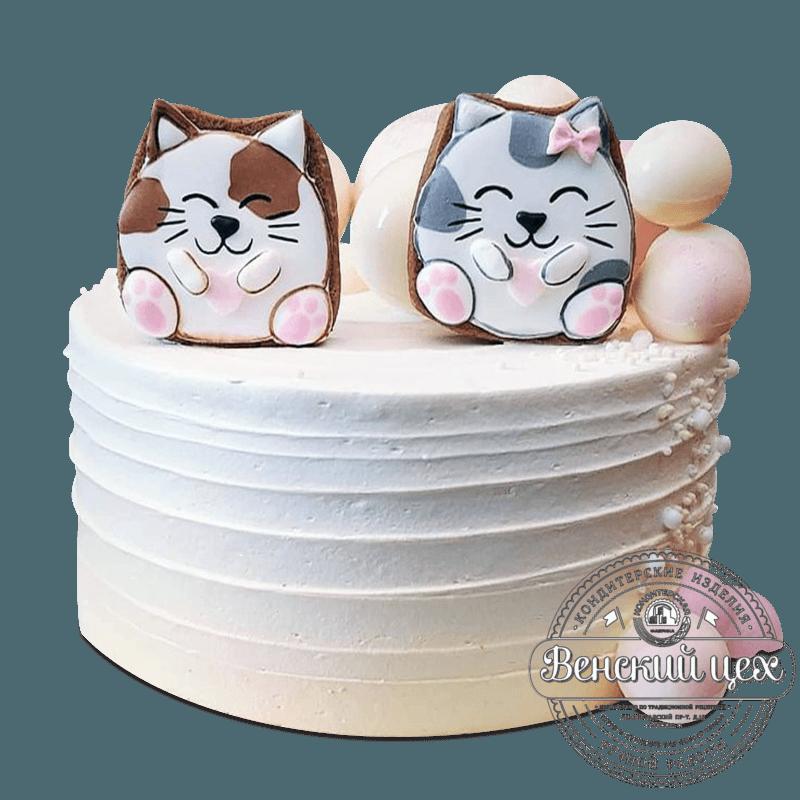 """Торт детский """"Котики"""" №2074"""