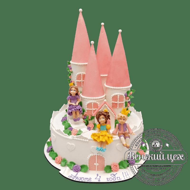 """Торт детский """"Замок принцессы"""" №2085"""