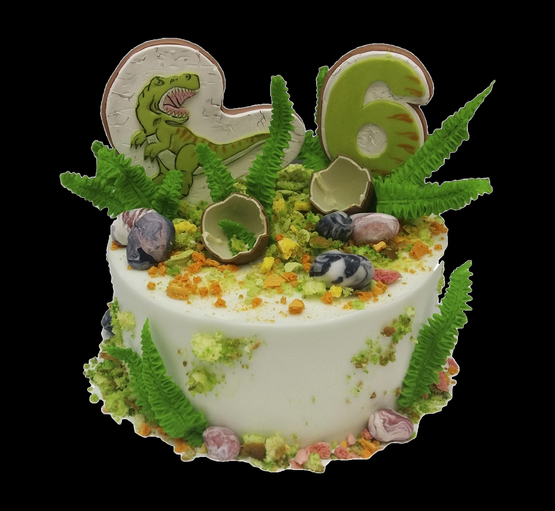 """Торт детский """"Эра динозавров"""" №3016"""