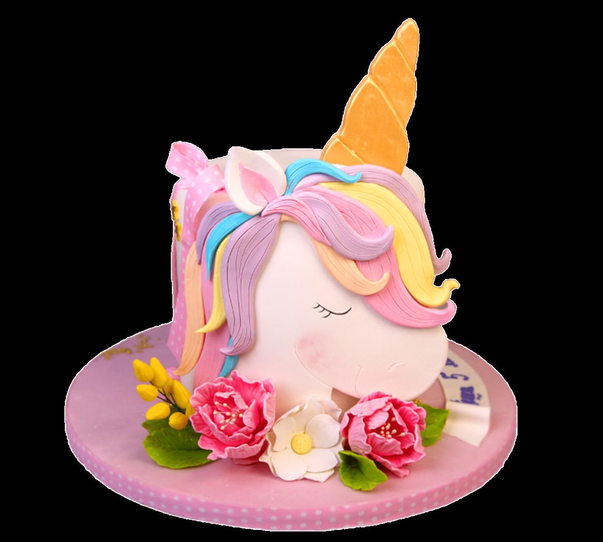 """Торт детский """"Мой любимый единорог"""" №3015"""