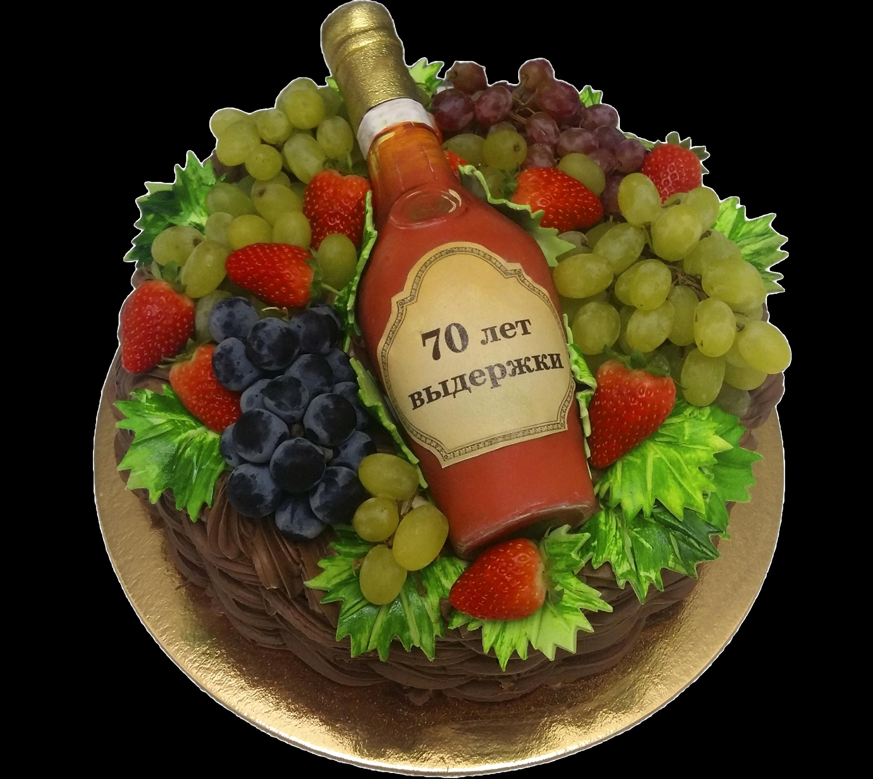 """Торт на юбилей """"Солидный подарок"""" №3021"""
