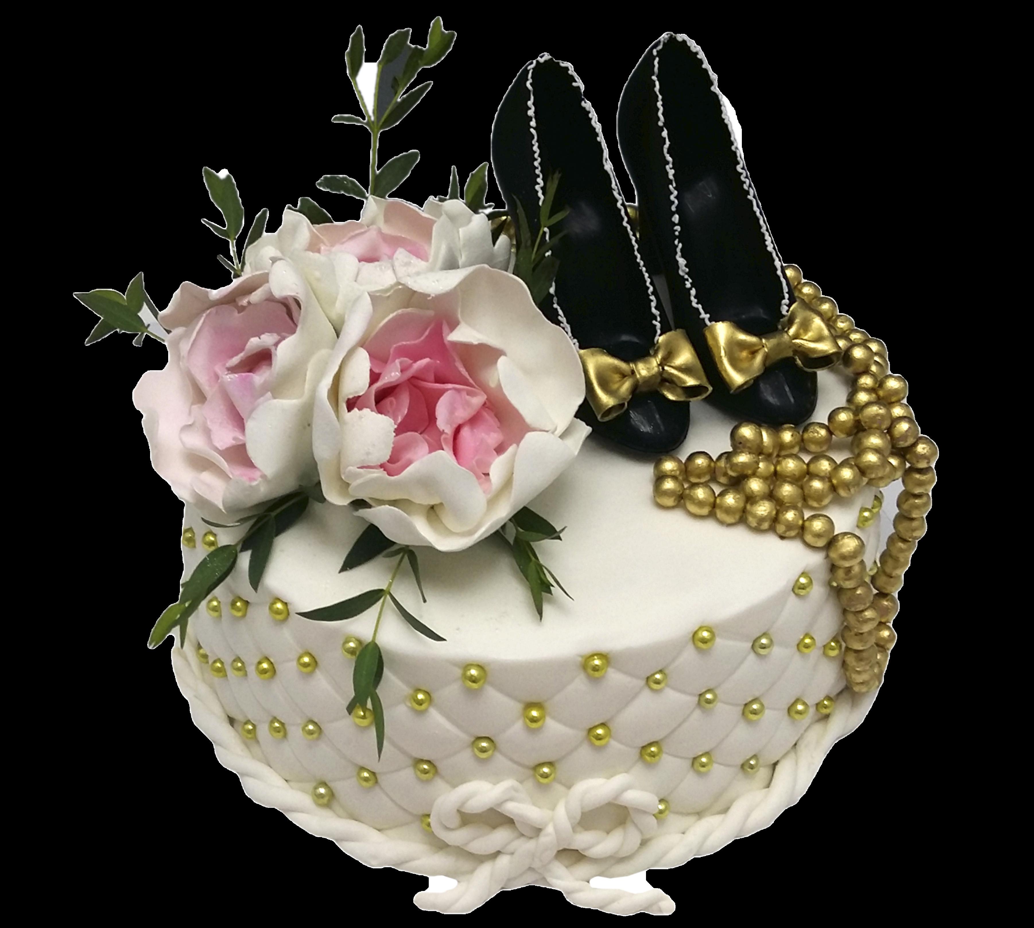 """Торт на день рождения """"Все к твоим ногам!"""" №3012"""